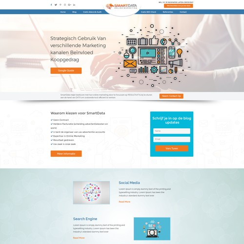 Smart Data- Web design