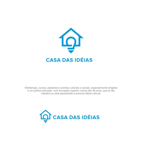 Modern Logo For Educational Workshop