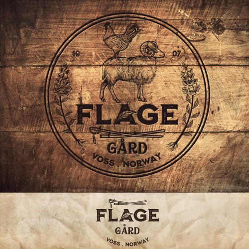 logo for Flage Gard