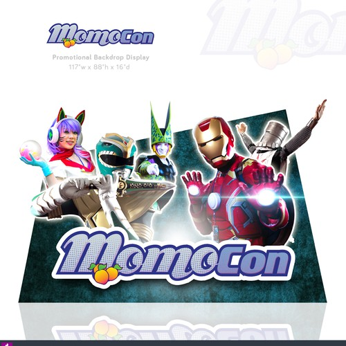 MOMOCON - Promotional Backdrop Display
