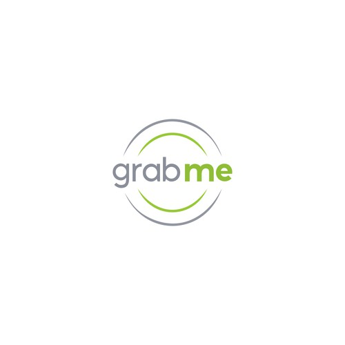 The concept logo for Grab Me.