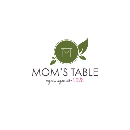 Logo Concept for Mom's Table