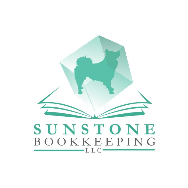 Design a logo for virtual bookkeeper who works with pet businesses