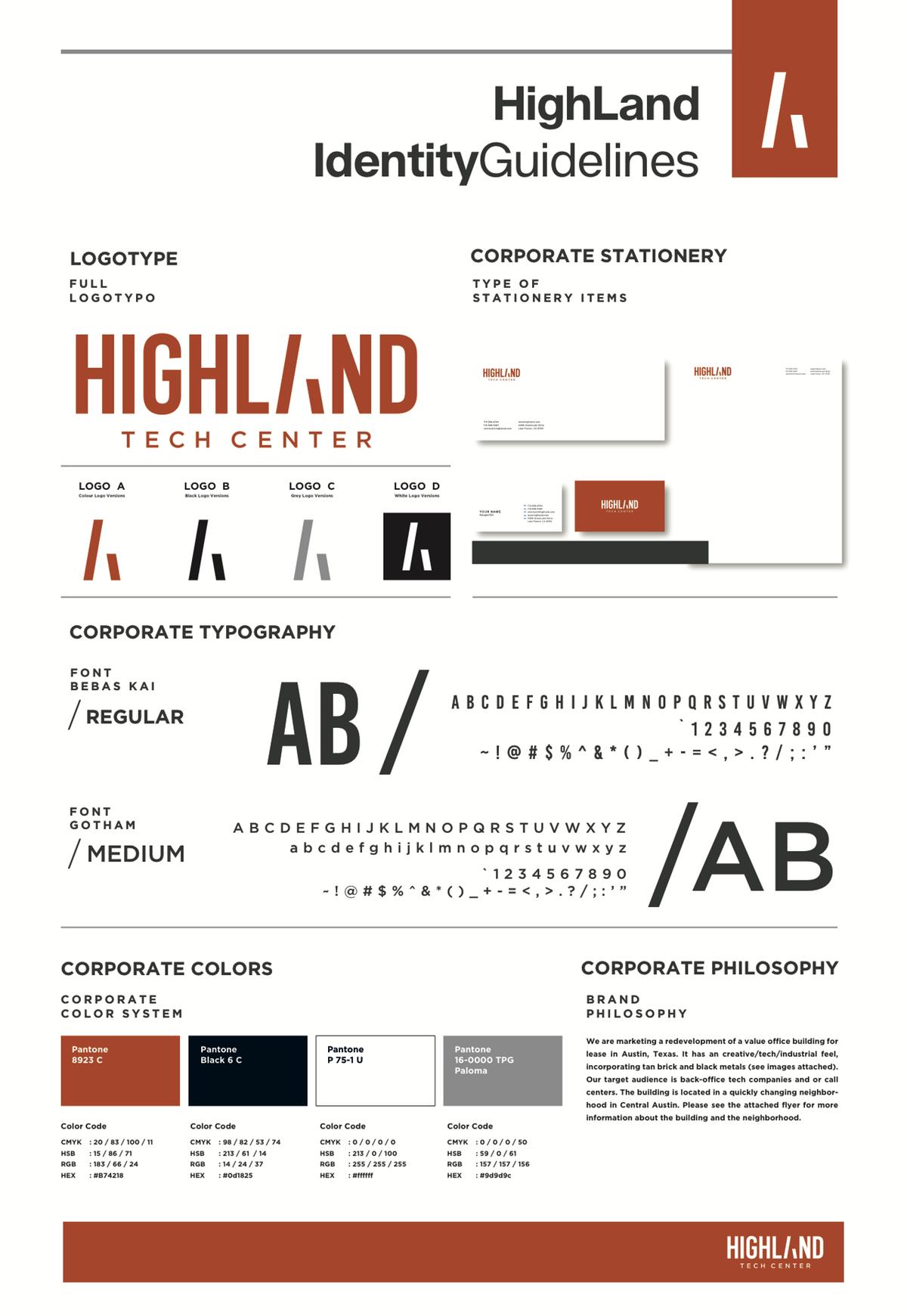 Highland Tech Center Brand Guide