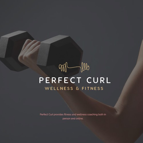 Logo Design for Perfect Curl