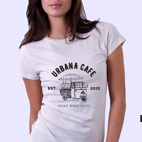 Urbana Cafe, Winter T-Shirt