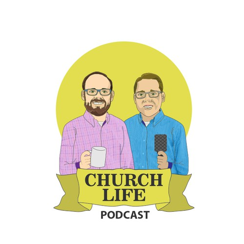 Illustration for Church life Podcast