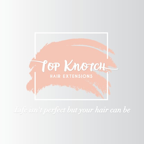 Logo for hair extensions seller