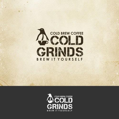 Creative Logo Design for Cold brew coffee