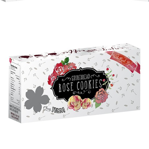 Rose Cookies box
