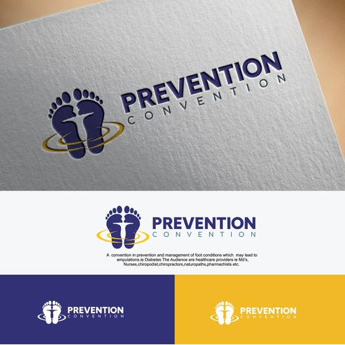 Create a powerful enticing logo for a medical convention