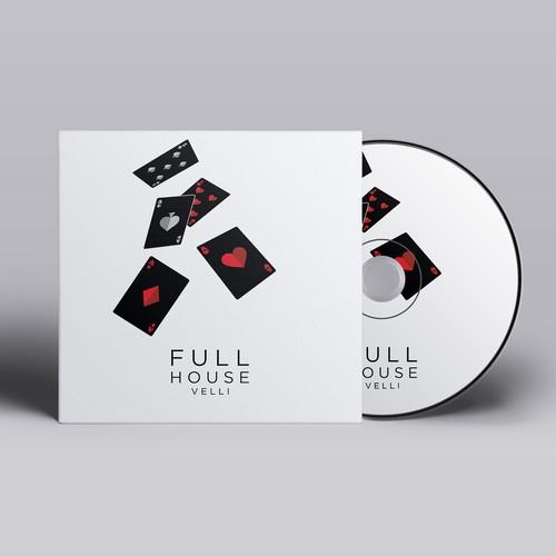 CD cover for hip hop artists new album Full House