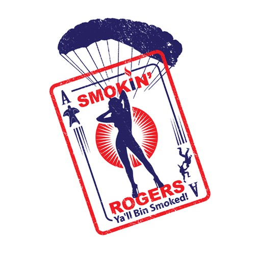 logo for the Smokin' Rogers