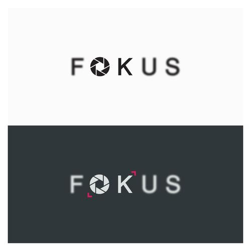 FOKUS logo design