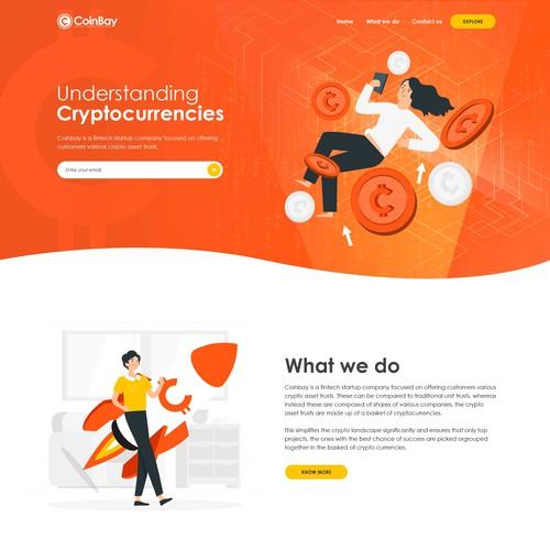 coinbay web design