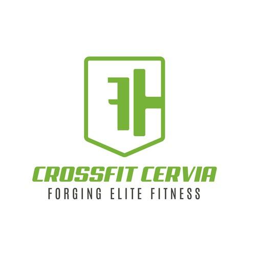 "Concept logo for ""Crossfit Cervia"""