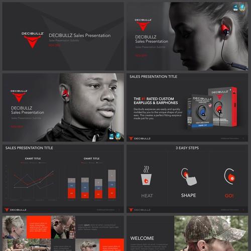 PowerPoint Design for DECIBULLZ