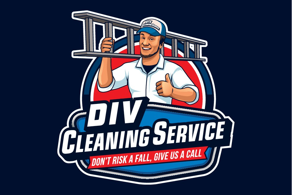 Gutter Cleaning Company need EASY TO READ logo