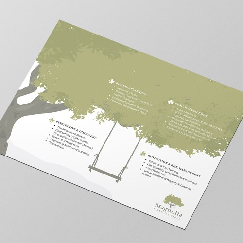 Print Design for Financial Brand