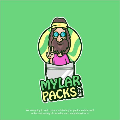 Logo for mylarpacks.com