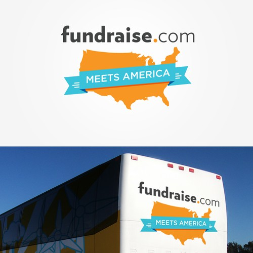 Vehicle wrap wanted for fundraise.com