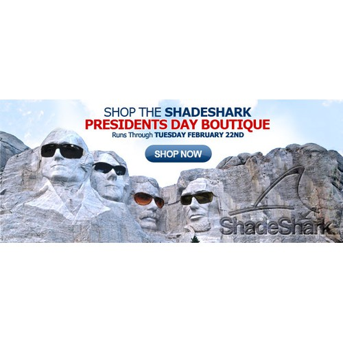 Presidents Day Week Sunglass Promotion