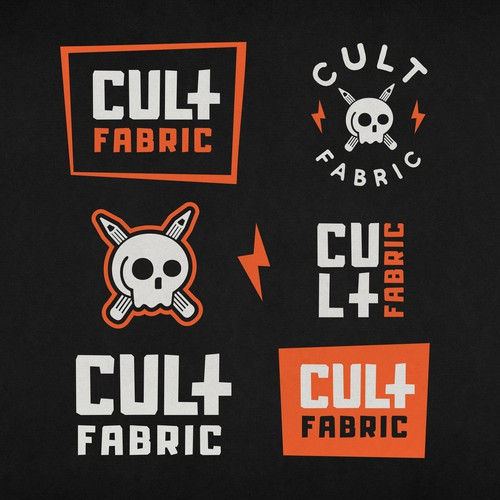 Cult Fabric Clothing Logo