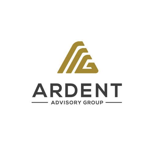 sophisticated logo for an investment bank Ardent Advisory Group