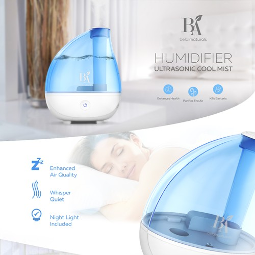 Landing page for Humidifier