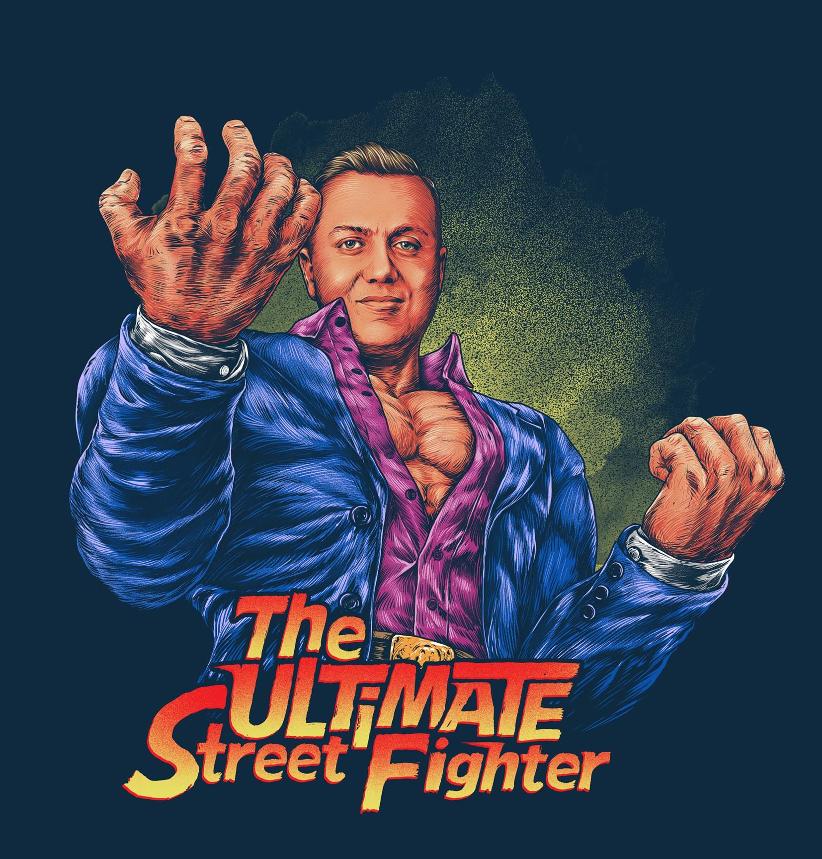 Street Fighter Design