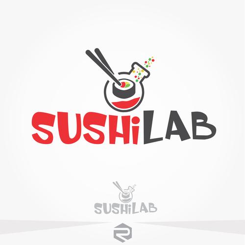 Sushi Lab logo!