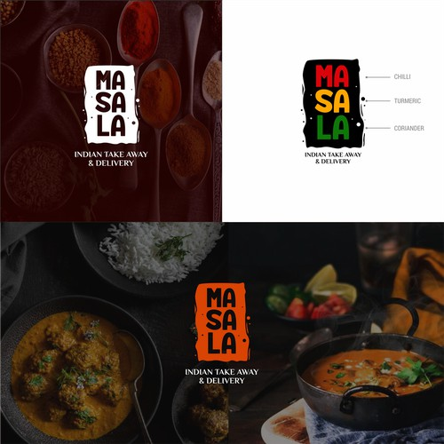 Logo Concept for Masala