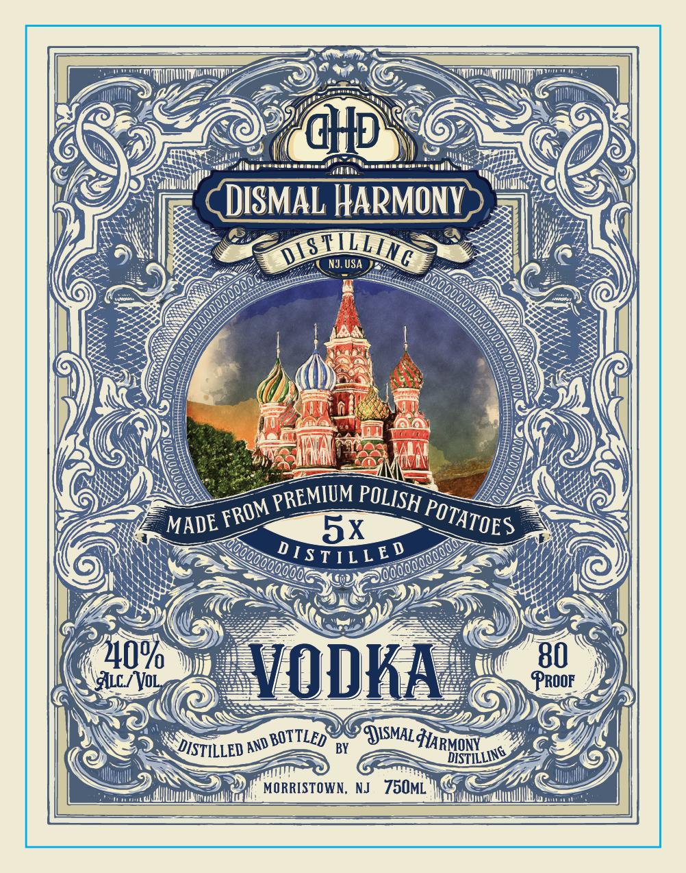 Vodka Label Modifications.