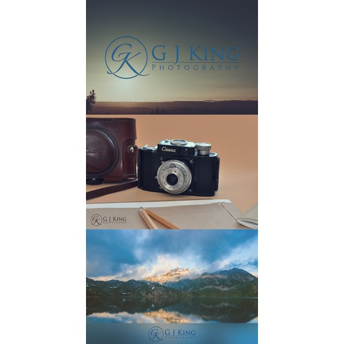Design a fresh new logo for an ever-evolving fine art and landscape photographer.
