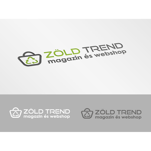 Green Trend logo design