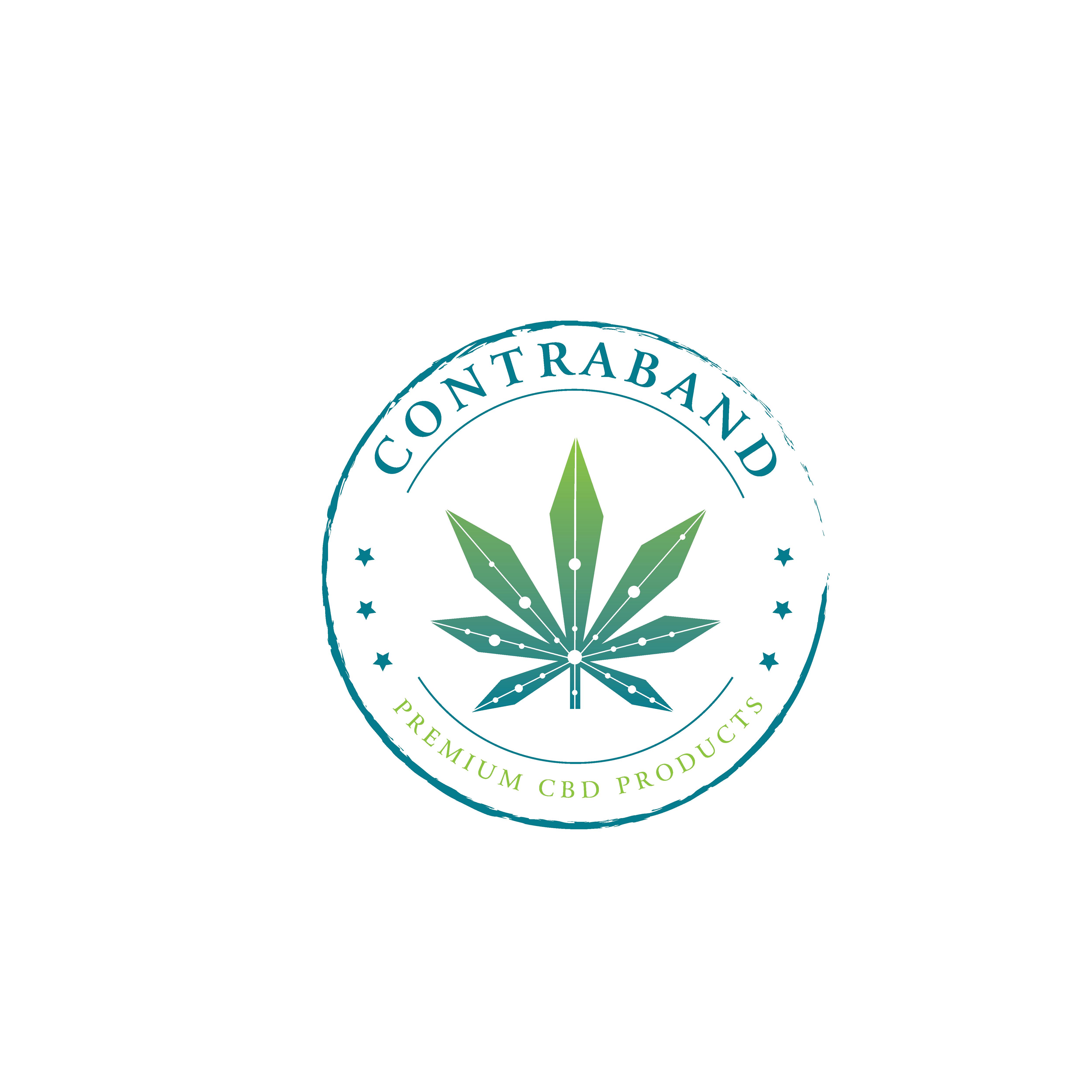 """Creative logo design for CBD brand """"Contraband"""""""