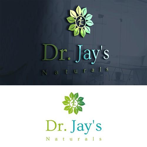 Dr. Jay's Naturals Logo Design