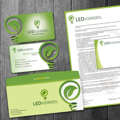 Create the next stationery for Ledvoordeel.nl