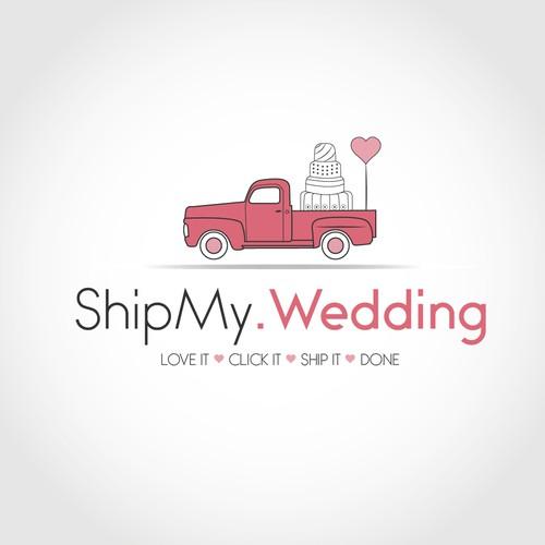 Logo for wedding rents