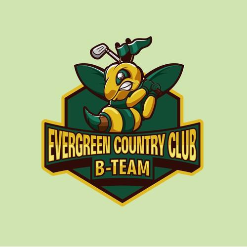 EVERGREEN COUNTRY CLUB . B-TEAM