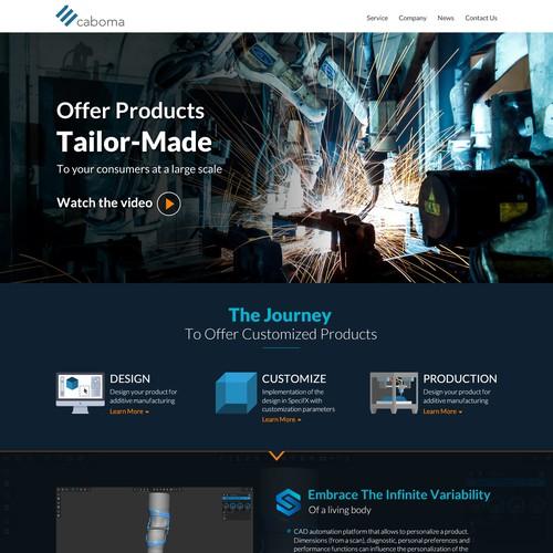 3D Company Web