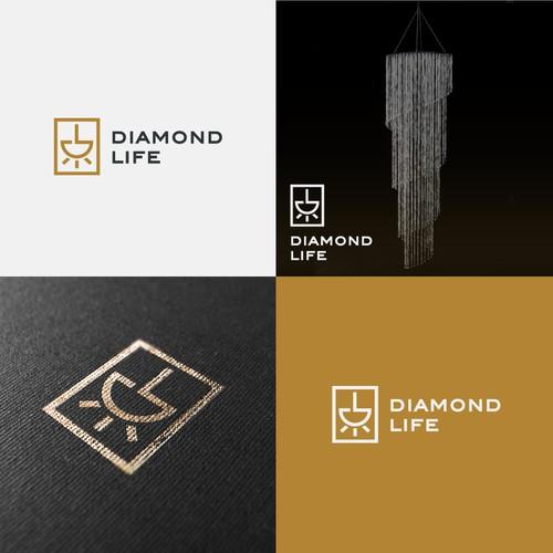 Logo Concept for Diamond Life