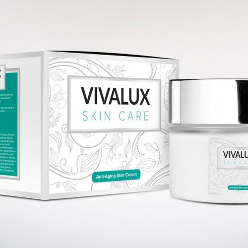 VivaLux Skin Care Packaging
