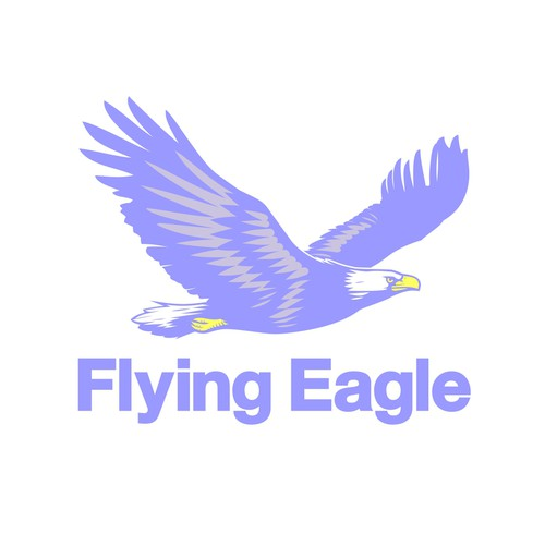 Create an active eagle symbol to broaden the brand of the company