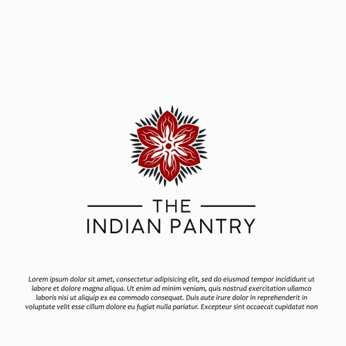 Healthy Fresh logo for a Indian grocery contest entry