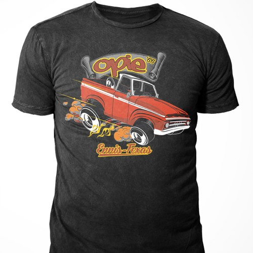 Classic Truck Turned into a Hot Rod - Opie