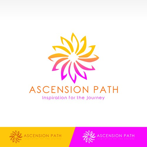 Radiant Logo design for Ascension Path