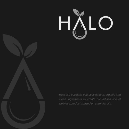 Simple & creative logo for natural oil company