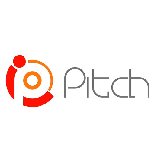 Create a fantastigreat, playful logo for recruiting startup PitchFire