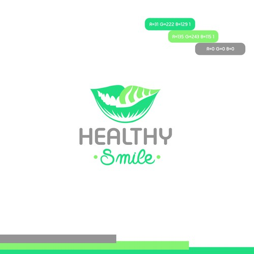 Logo design for dental clinic